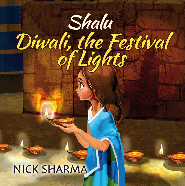 Come and play with Shalu as she teaches about the Indian tradition of Diwali, The Festival of Lights and learns how to find her family after she gets lost.