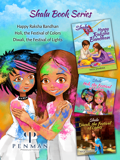The Shalu Series - Educating Children about Indian traditions and Important Life Lessons one book at a time.